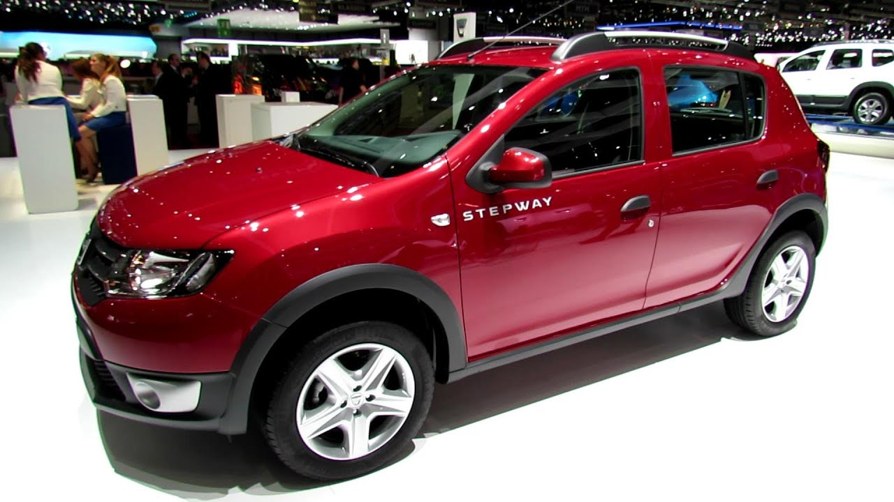 2014 dacia sandero stepway exterior and interior walkaround 2014 geneva motor show youtube. Black Bedroom Furniture Sets. Home Design Ideas