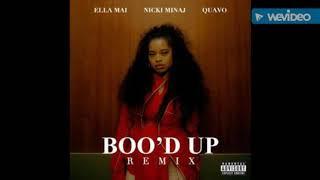 Ella Mai - Boo'D Up (Remix) feat Nicki Minaj, Quavo