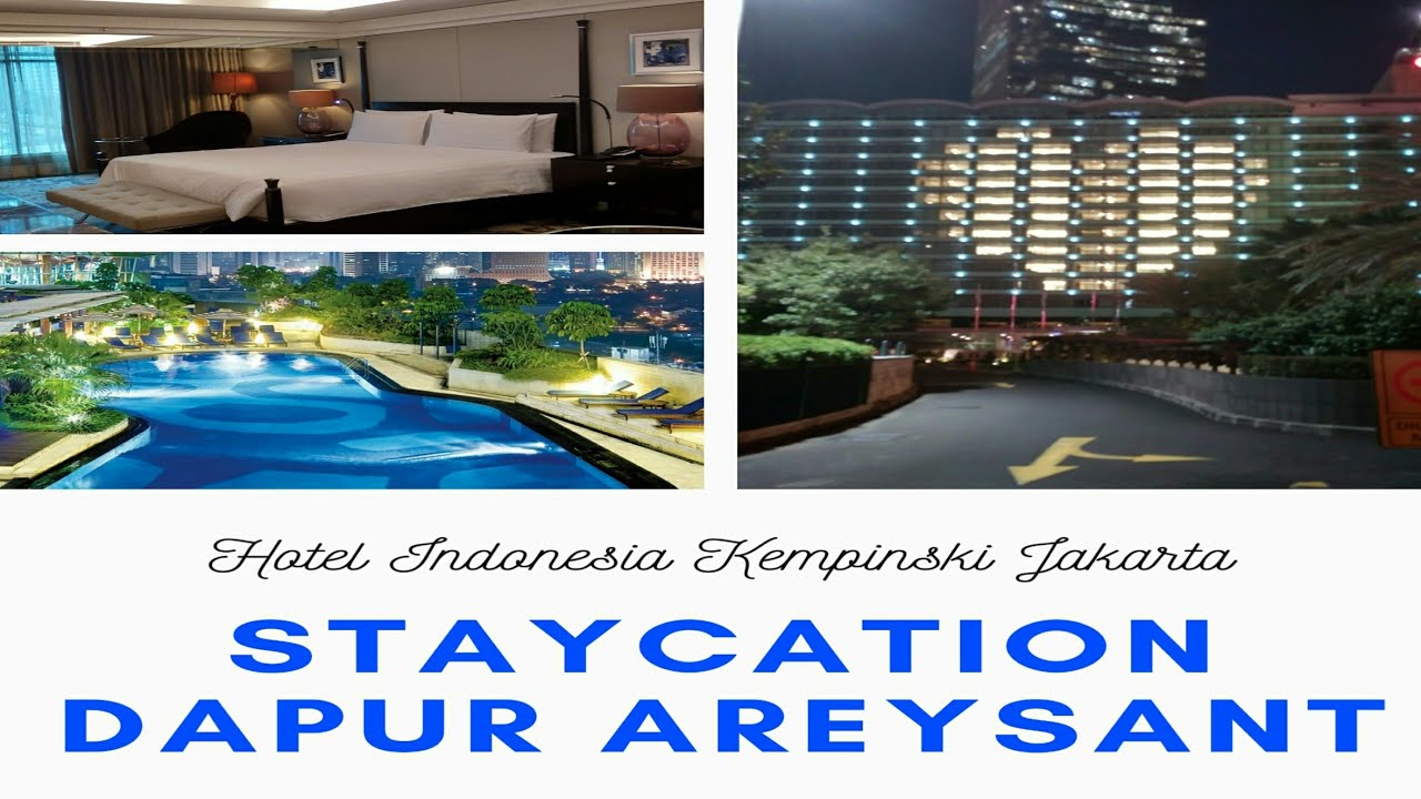 Staycation Di Hotel Bintang 5 Pertama Di Indonesia Review Hotel Youtube