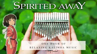 【1 HOUR】Spirited Away  Relaxing Kalimba Cover for Sleeping, Studying, Relaxing