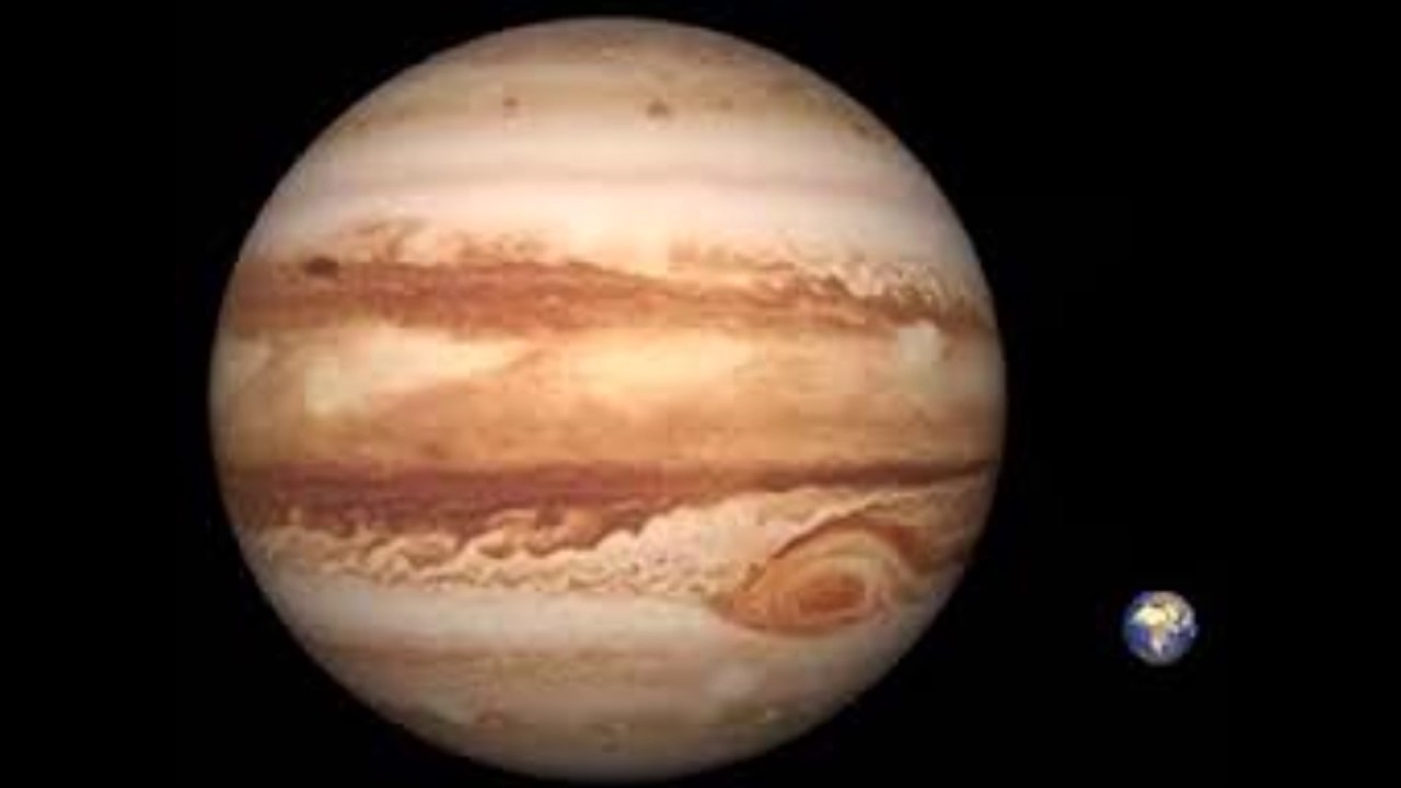 What is the largest planet of the solar system 48