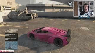 $725,000 Car Vs Tank! - Grand Theft Auto 5