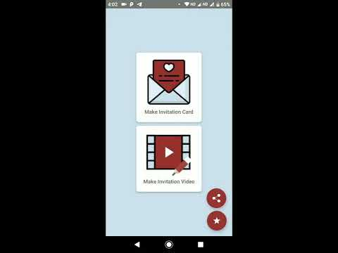 DesignerMe: Marriage Invitation Video & Card Maker - Apps on