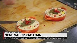 Download Video Menu Sahur Ramadan: Steamed Tahu Ayam Jamur Ala Chef Priscilia Prinsesa MP3 3GP MP4