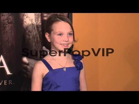 Isabelle Nélisse at Mama Premiere at Landmark Sunshine C...