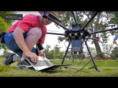 VolAero and Geodetics : UAS LiDAR Inspection