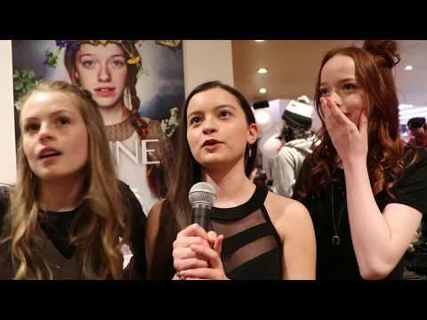 Amybeth McNulty, Dalila Bela & Kyla Matthews share which Netflix shows they watch