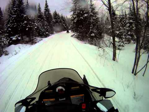 Arctic Cat F570 trails in NH