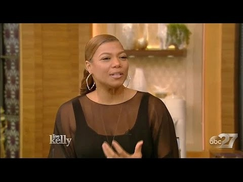 Queen Latifah ('Star') Interview | Live with Kelly (March 21, 2017) hd