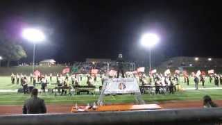 Cherokee Classic 2014 - Cherokee High School Marching Band - Beyond the Forest