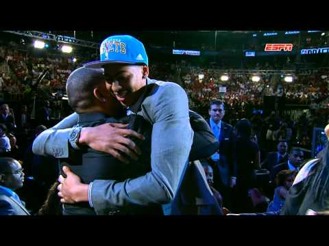Anthony Davis is top pick of 2012 NBA Draft!