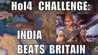 Hearts of Iron 4 Challenge: India strikes back at Britain