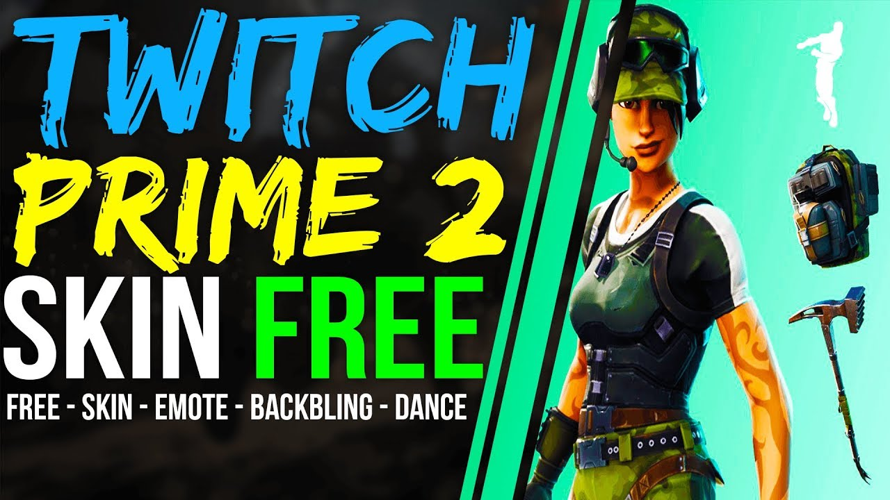 How to Get NEW Fortnite TWITCH PRIME PACK 2 LOOT for FREE Freestylin emote,  Skin, Pickaxe,Back Bling