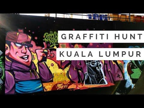 Graffiti l Kuala Lumpur, Malaysia VLOG#1
