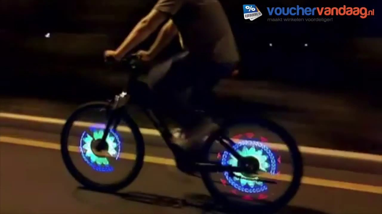 LED wielverlichting - YouTube