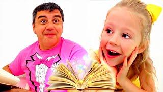 Nastya mostra como crianças deveriam não se comportar