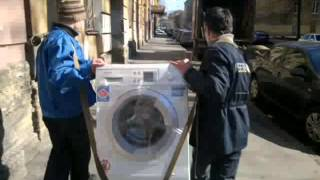 Перевозка бытовой техники. Как перевезти огромный холодильник.(, 2015-05-21T09:34:21.000Z)