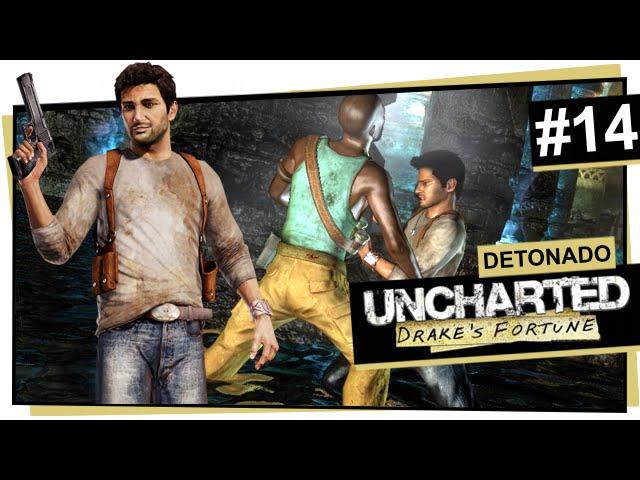 Uncharted #14 - Exploração subterrânea / Uncharted: Drake\'s Fortune (Português)