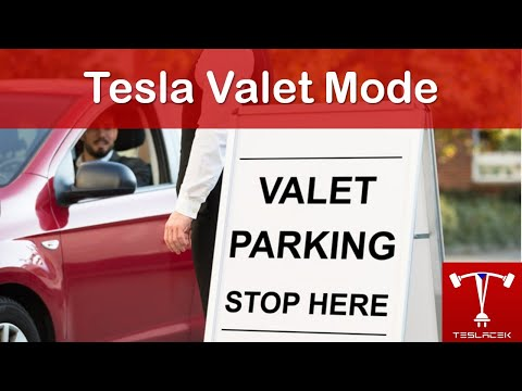 #143 Tesla Valet Mode | Teslacek