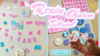 ♡ D.I.Y Resin Charms Tutorial
