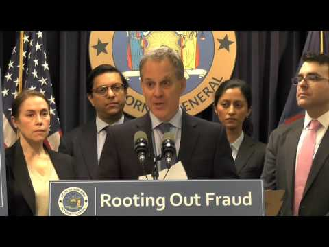 A.G. Schneiderman Announces Lawsuit Against Spectrum-TWC & Charter Communications