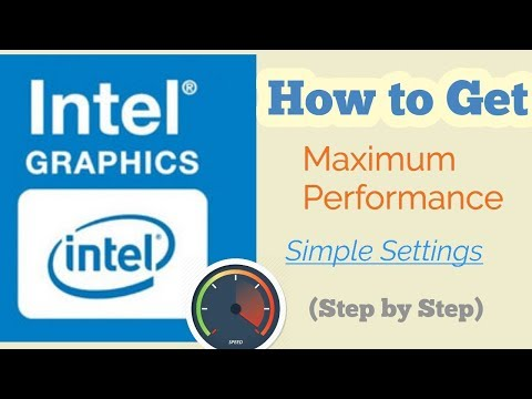 How to Get Maximum Performance from Intel HD Graphics Card  in Pc/Laptop (Step by Step) 2020