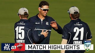 Young Vics end domestic season with win over SA | Marsh One-Day Cup 2020-21