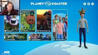 Planet Coaster - Ganz spontan mit der Community   Livestream vom 30.09.18