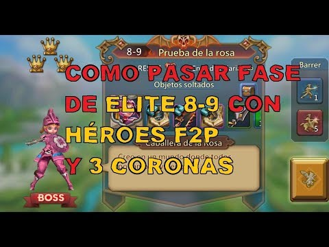 Fase Elite 8 - 9 Lords Mobile