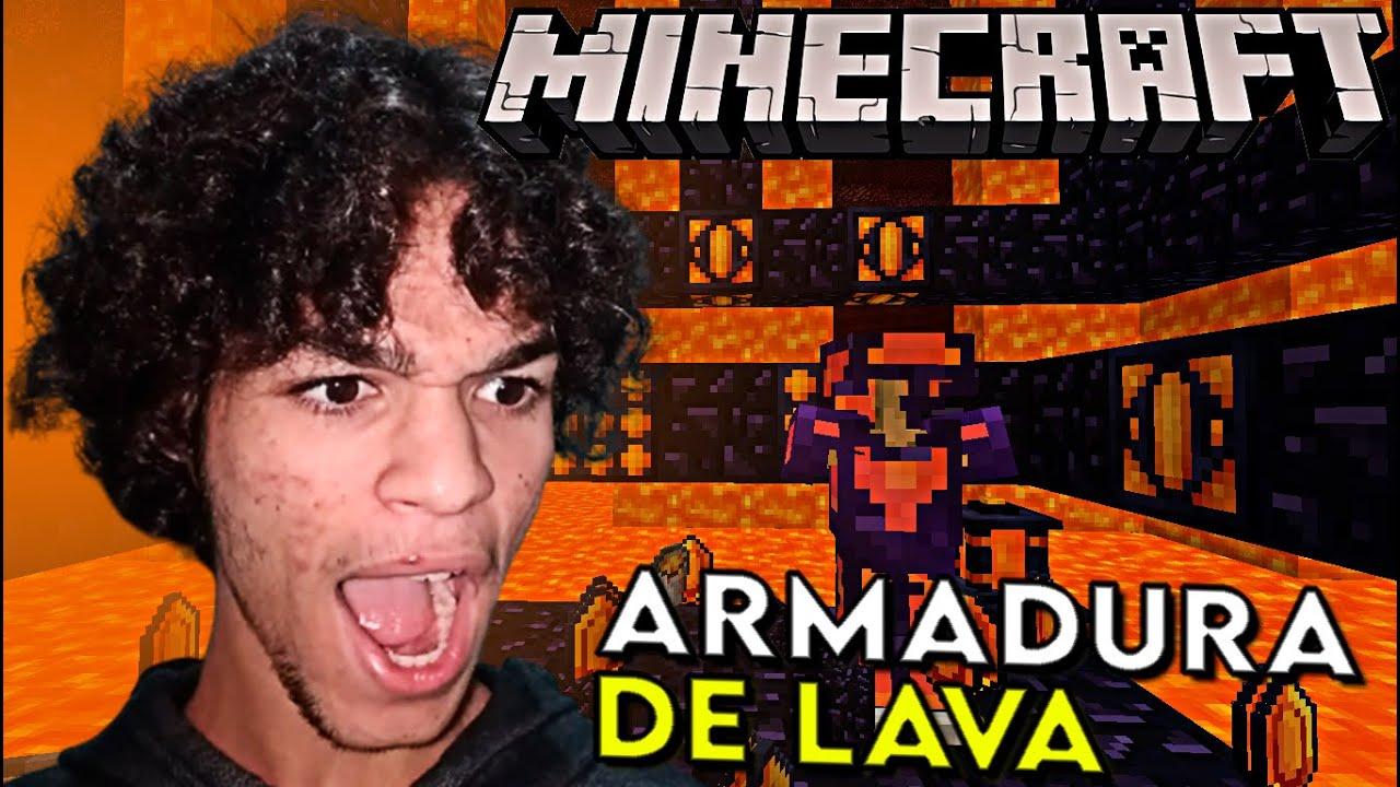 Download COMO FAZER ARMADURA DE LAVA MUITO FORTE NO MINCRAFT - MINECRAFT 1.12.2 - MINECRAFT MODS #4