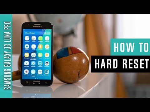 How to Hard Reset Samsung Galaxy J3 Luna Pro - Swopsmart
