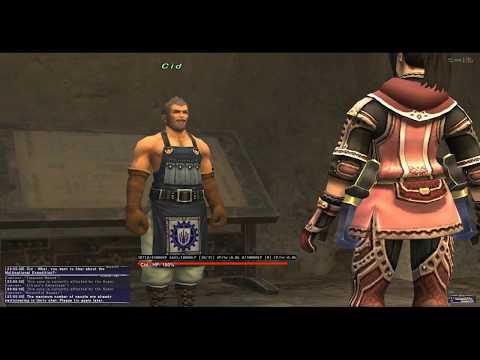 FFXI - Story Mode - Bastok Missions - Rank 1