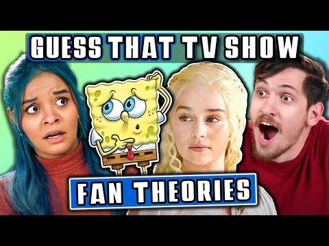 GUESS THAT TV FAN THEORY CHALLENGE   FBE Staff Reacts