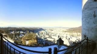 Festungsbahn mit Festungsblick 360 Grad 4K Nikon 360 Keymission Salzburg AG TV