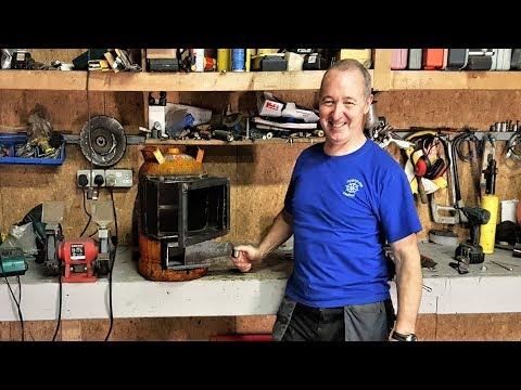 Cheap !! DIY Wood Burning Stove