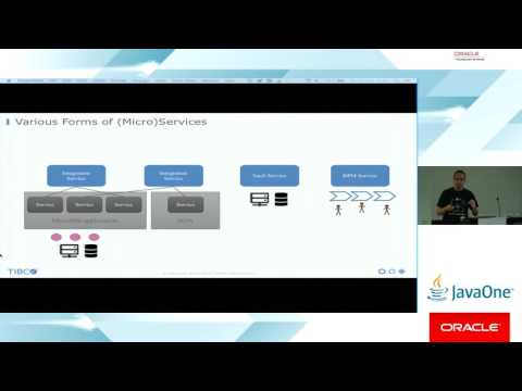 Cloud Native Microservices and Containers in the Middleware World