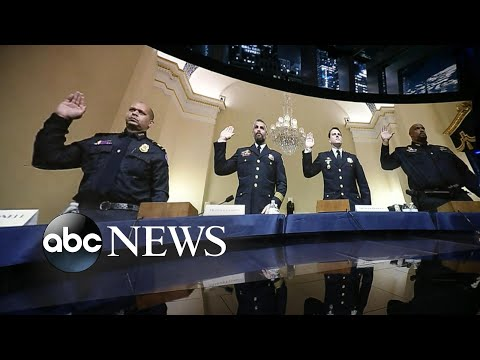 Capitol police officers testify to Jan. 6 committee l WNT