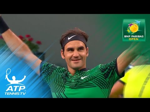 Federer beats Nadal, Kyrgios stuns Djokovic | Indian Wells 2017 Day 7 Highlights