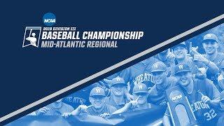 2018 NCAA DIII Baseball Mid-Atlantic Regional - GAME 14