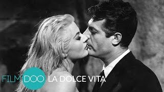 Watch la dolce vita on filmdoo at: https://www.filmdoo.com/films/la-dolce-vita/at three brief hours, fellini's cynical, engrossing social commentary, dolc...