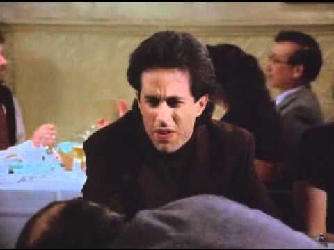 Seinfeld  Jerry eats pecans that were in Shelly's mouth and spits them out