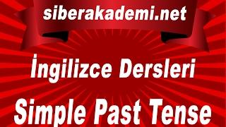 İngilizce Dersleri 1 Dönem Ders 1 Simple Past Tense