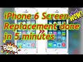 - how to change iphone 6 screen in 5 min replace repair iphone 6 screen replacement apple