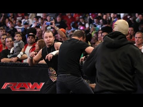 Cody Rhodes and Goldust attack The Shield: Raw, Sept. 23, 2013