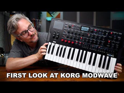 KORG MODWAVE FIRST IMPRESSIONS // exploring Korgs new Wavetable Synthesizer!