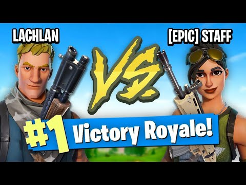 EPIC EMPLOYEE VS LACHLAN (Fortnite Battle Royale)