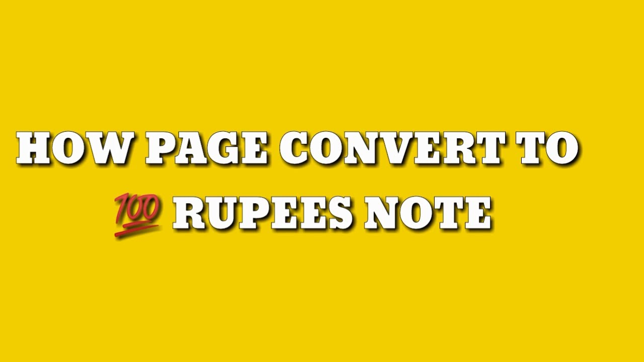 Reveal the Secret |New Episode 010  Convert Paper into Note | Best Magic Trick Ever