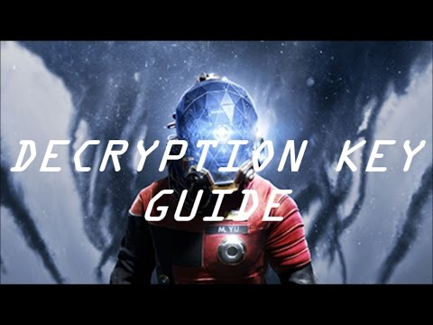 Prey getting into hendrik devries office decryption key