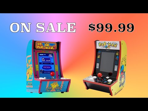 Arcade1Up Ms  PacMan & PacMan Countercades on SALE! from Original Console Gamer