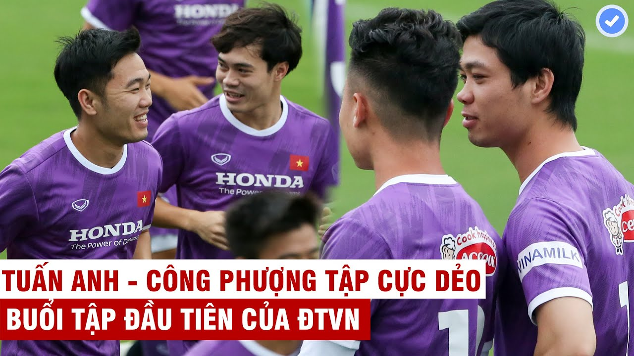 VN Sports cuối ngày 8/5 | ĐTVN tập luyện: Tuấn Anh, C.Phượng xử lý bóng cực dẻo, Hoàng-Hậu tập riêng